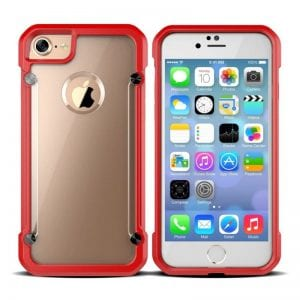 iPhone 6:7 Red Protective Case The Phone Shop Bristol