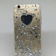 Glitter Heart case for iPhone1
