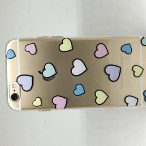 Heart Pattern iPhone 7 Case1