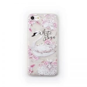 White Swan Case iPhone2