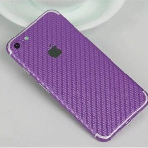 iPhone foil wrap Carbon TPS5