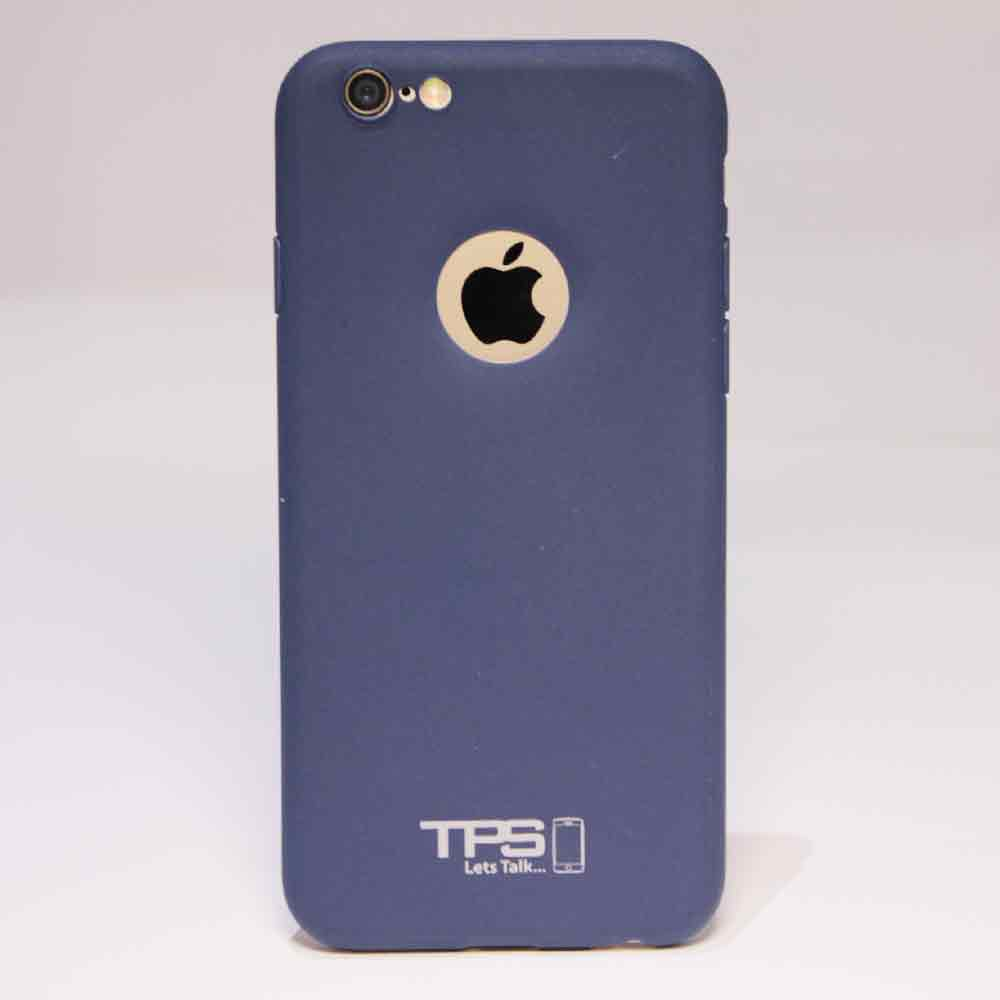 tps skin blue - TPS Soft Skin -  iPhone 5/5S/6/6S