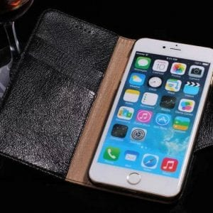 psb 1 3 300x300 - Real Leather Flip Case - iPhone 6/6S
