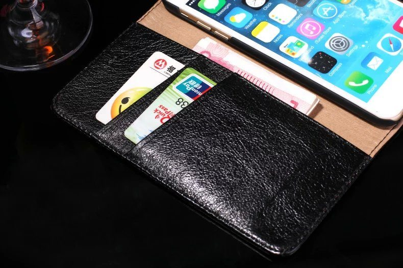 psb 2 2 - Real Leather Flip Case - iPhone 6/6S