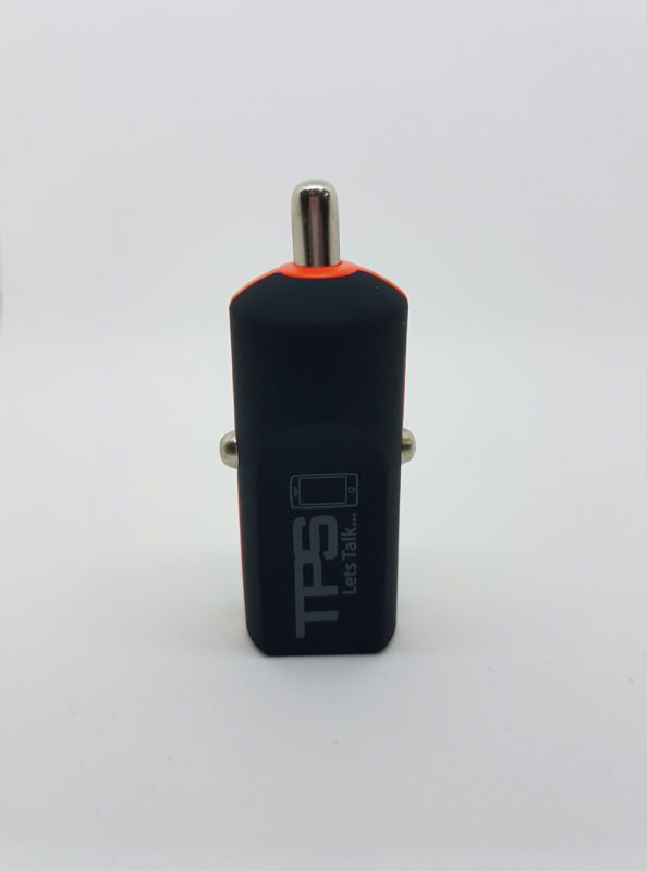 TPS Single Car Charger Black Hero - TPS Single USB Car Charger - Supports Most Devices