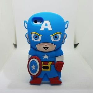 iPhone 45 Super hero case BlueCap 300x300 - Super Hero Soft Case - iPhone 4/4S/5/5S