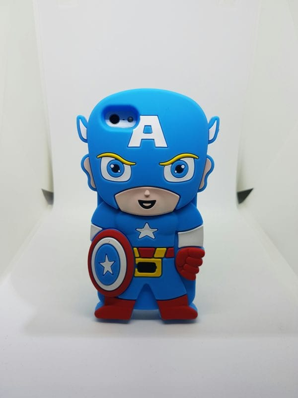 iPhone 45 Super hero case BlueCap - Super Hero Soft Case - iPhone 4/4S/5/5S