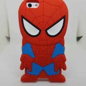 iPhone 45 Super hero case Spider 300x300 - Super Hero Soft Case - iPhone 4/4S/5/5S