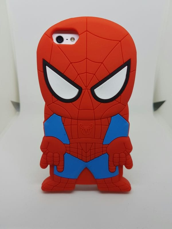 iPhone 45 Super hero case Spider - Super Hero Soft Case - iPhone 4/4S/5/5S
