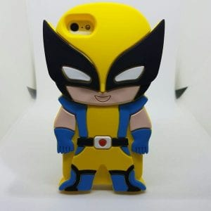 iPhone 45 Super hero case Wolverine 300x300 - Super Hero Soft Case - iPhone 4/4S/5/5S