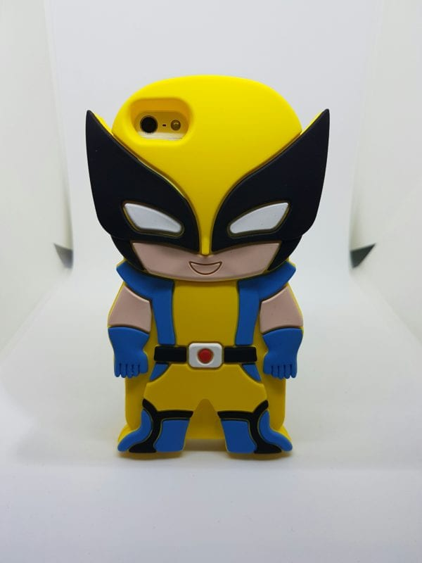 iPhone 45 Super hero case Wolverine - Super Hero Soft Case - iPhone 4/4S/5/5S