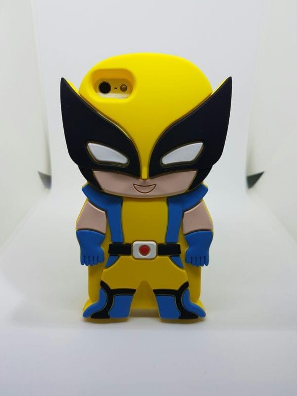 iPhone 45 Super hero case Wolverine - Super Hero Soft Case - iPhone 4/4S/5/5S