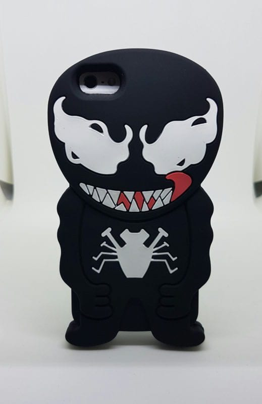 iPhone 45 Super hero case venom - Super Hero Soft Case - iPhone 4/4S/5/5S
