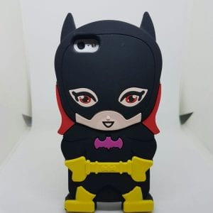 iPhone 45 Super hero caseBatgirl 300x300 - Super Hero Soft Case - iPhone 4/4S/5/5S
