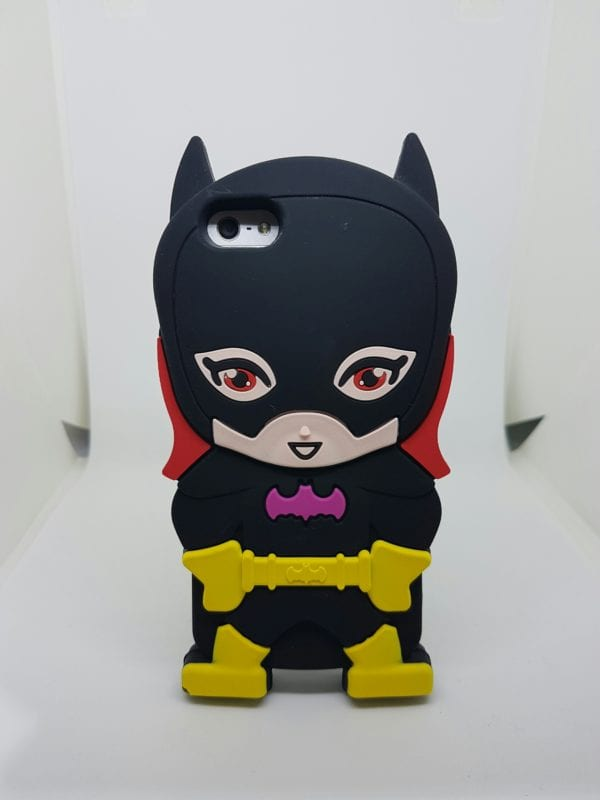 iPhone 45 Super hero caseBatgirl - Super Hero Soft Case - iPhone 4/4S/5/5S