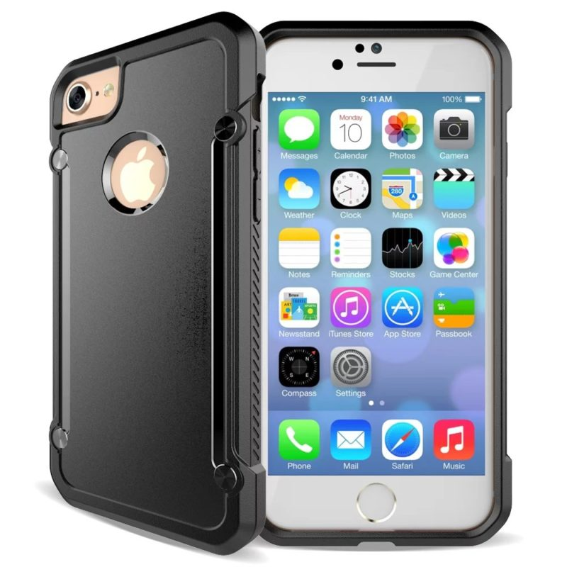 iPhone 67 Black Protective Case The Phone Shop Bristol - Clear Armour Case - iPhone 5/5s/6/6+/7/7+