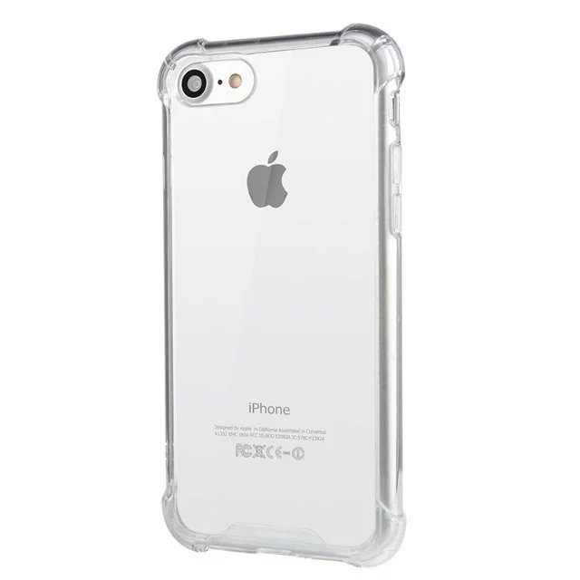 sports shoes 0df0c bf1be Clear Silicone Case - iPhone 5/5s/6/6+/7/7+