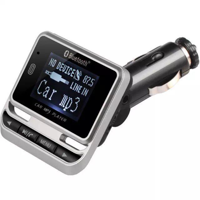 FM Transmitter TPS Car MP3 - FM Bluetooth In Car Transmitter