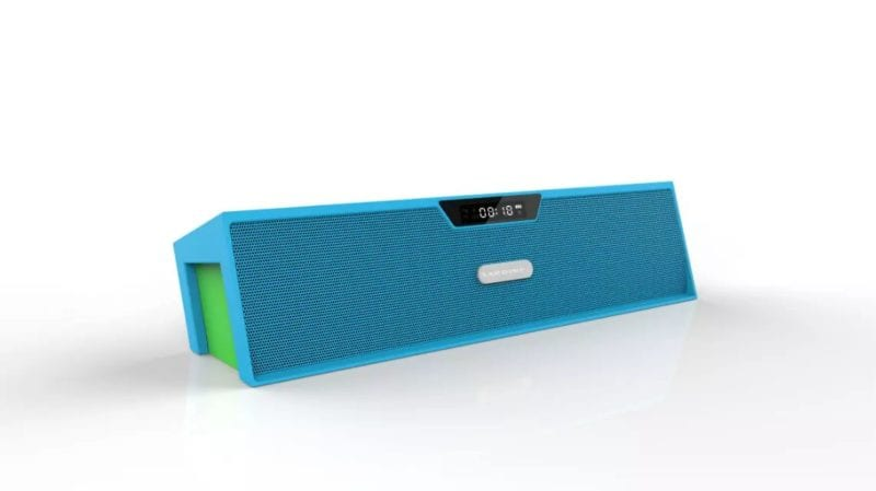 Sardine Bluetooth Speaker Blue - Sardine Long Bluetooth Speaker