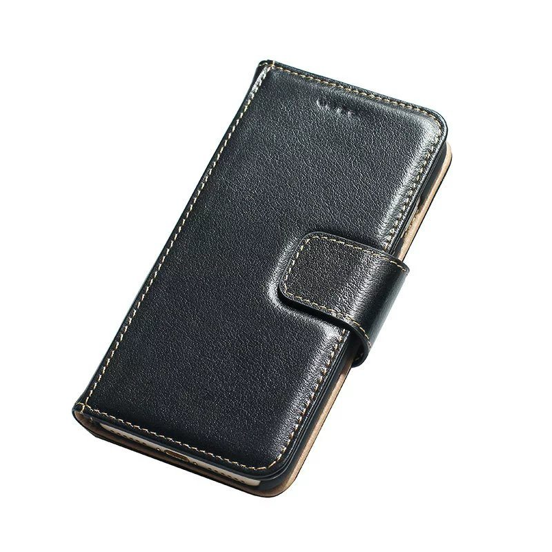 The Phone Shop Leather Real Case for iPhone 75 - Real Leather Flip Case - iPhone 7
