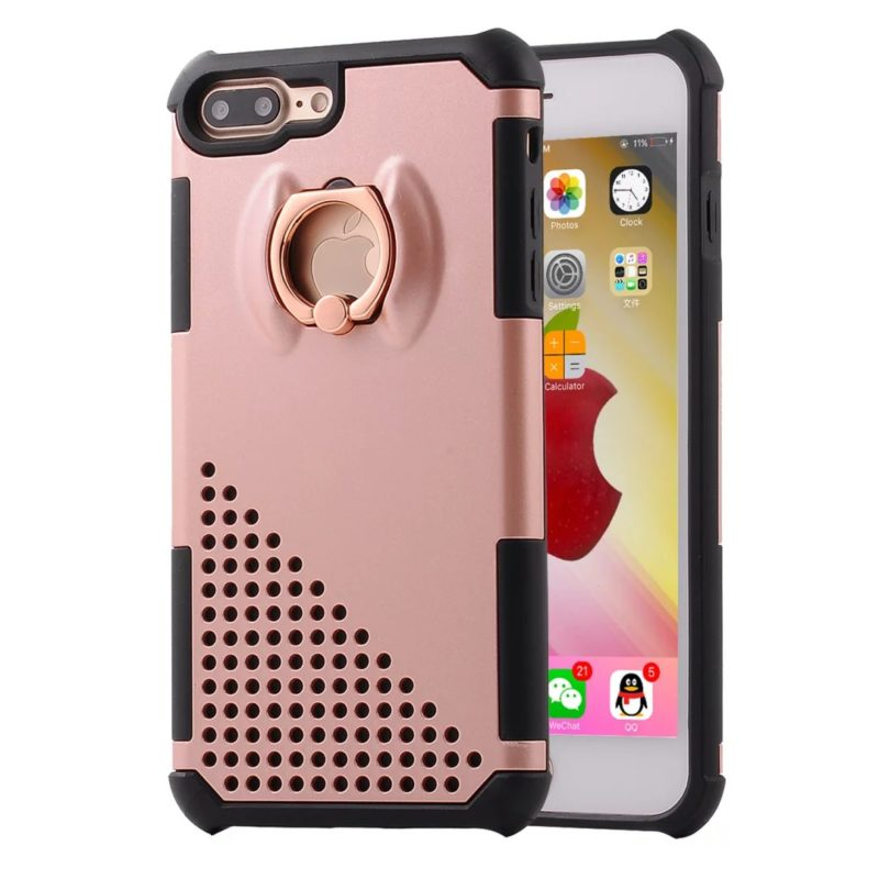 The Phone Shop Ring Protective Case for iPhone 712 - Ring Holder Case - iPhone 6/6+/6S/6S+