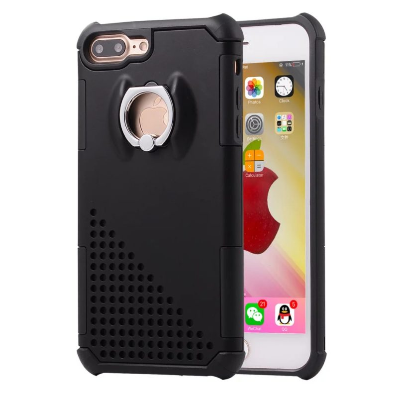 The Phone Shop Ring Protective Case for iPhone 713 - Ring Holder Case - iPhone 6/6+/6S/6S+