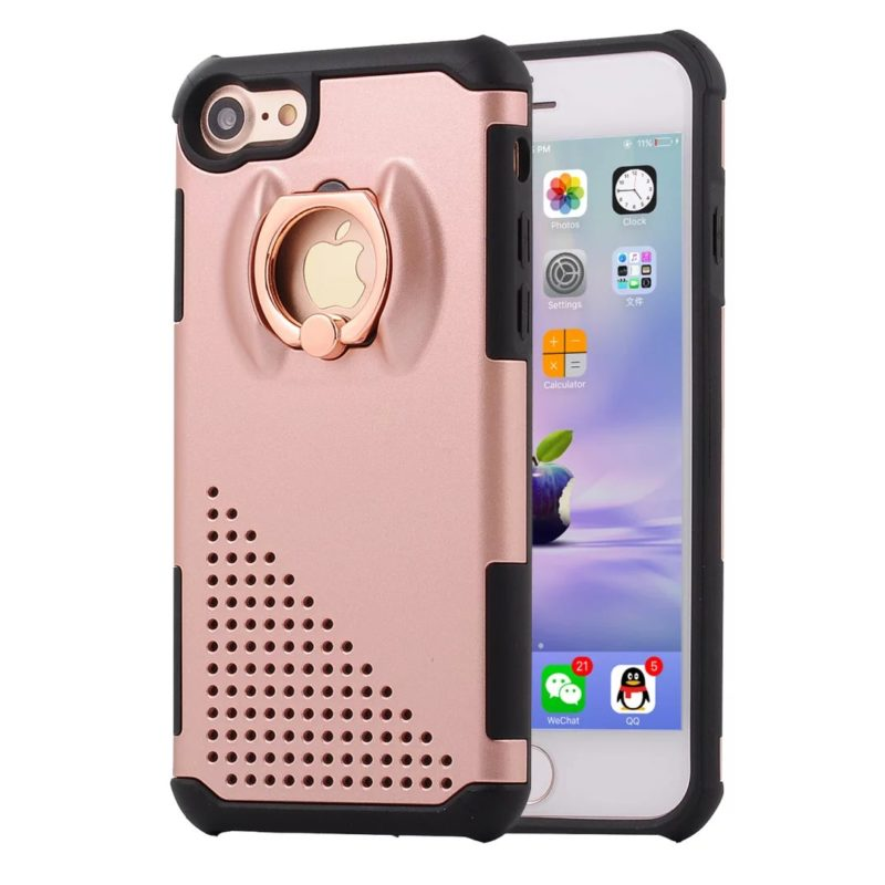 The Phone Shop Ring Protective Case for iPhone 78 - Ring Holder Case - iPhone 6/6+/6S/6S+