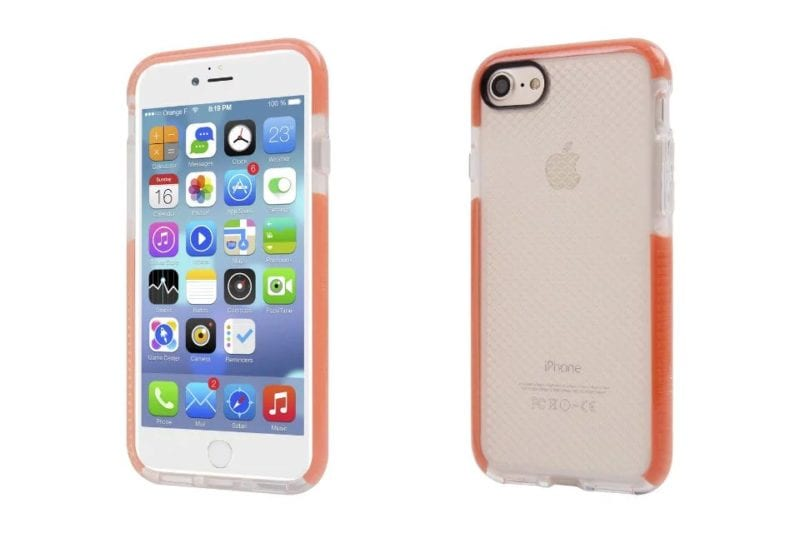 The Phone Shop Strong Silicone Case for iPhone 712 - Absorption Silicone Case - iPhone 7/7+