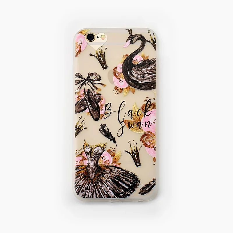 Black Swan case for iPhone1 - Black Swan - iPhone 6/6+/6S/6S+/7/7+