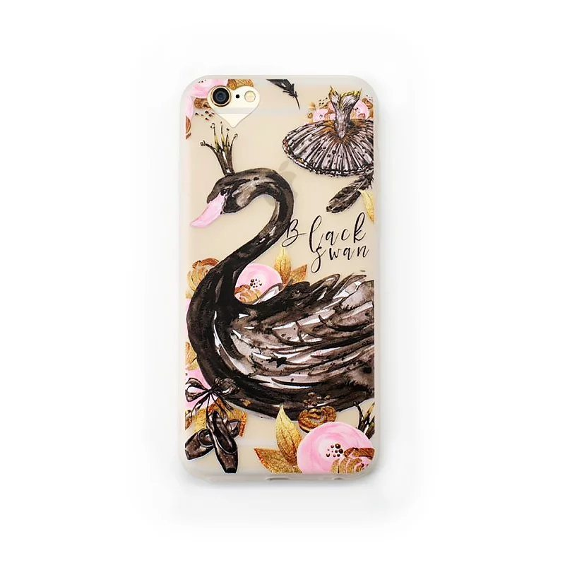Black Swan case for iPhone12 - Black Swan - iPhone 6/6+/6S/6S+/7/7+