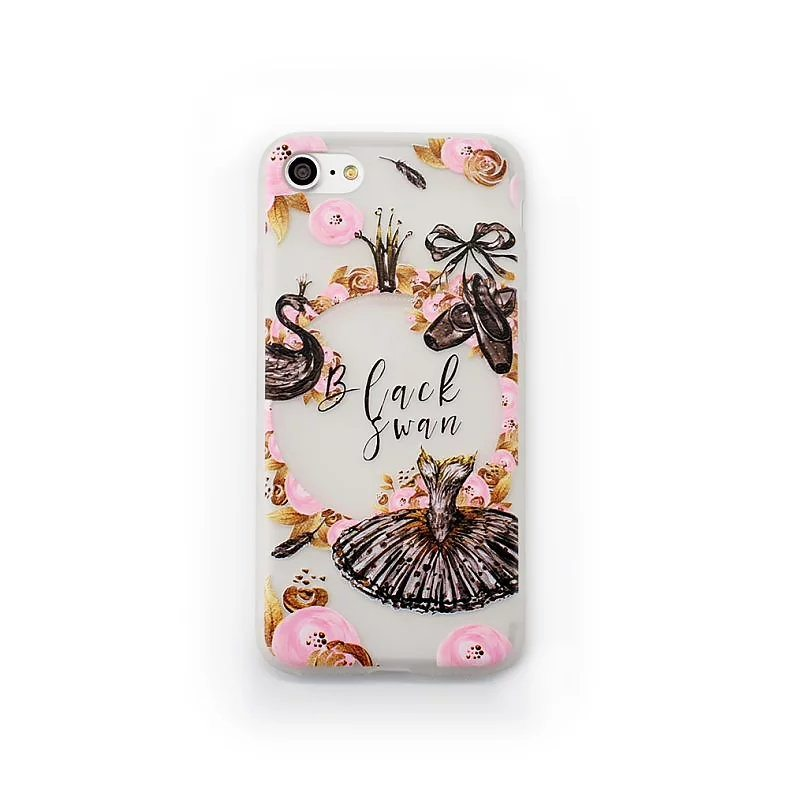 Black Swan case for iPhone3 - Black Swan - iPhone 6/6+/6S/6S+/7/7+