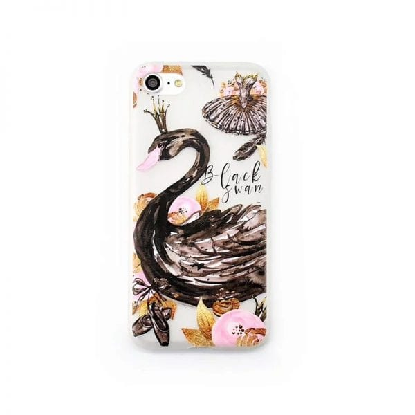 Black Swan case for iPhone5 600x600 - Black Swan - iPhone 6/6+/6S/6S+/7/7+