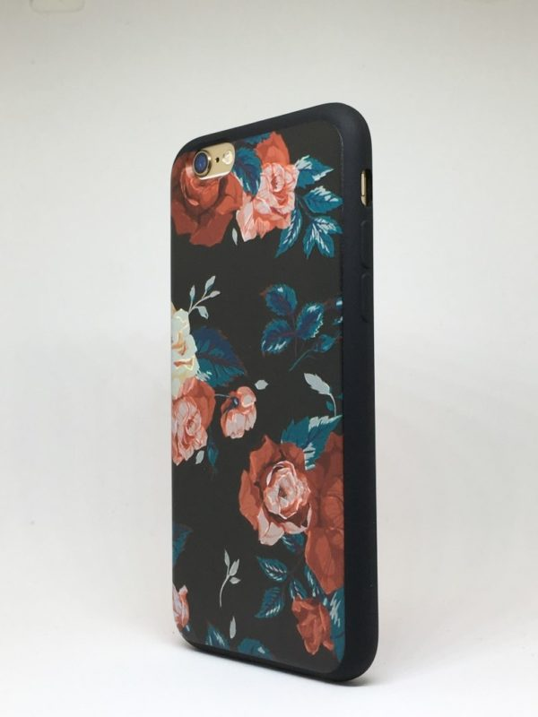 Flower case for iPhone15 e1492446249947 - Red Rose - iPhone 6/6+/6S/6S+/7/7+