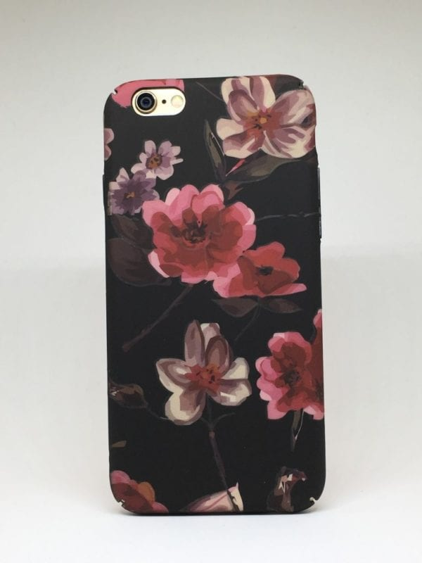 Flower case for iPhone4 e1492445955419 - Pink Flowers Matte - iPhone 6/6+/6S/6S+/7/7+