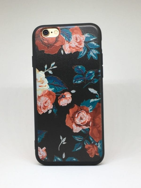 Flower case for iPhone6 e1492446044851 - Red Rose - iPhone 6/6+/6S/6S+/7/7+