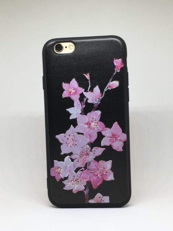Flower case for iPhone8 e1492446104599 - Pink Lilys - iPhone 6/6+/6S/6S+/7/7+