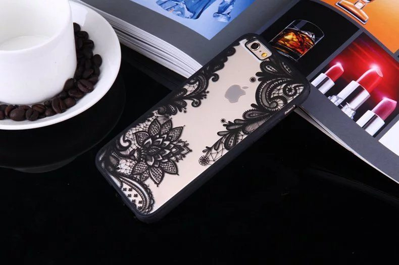 Henna Floral case for iPhone2 - Henna Floral - iPhone 6/6+/6S/6S+/7/7+