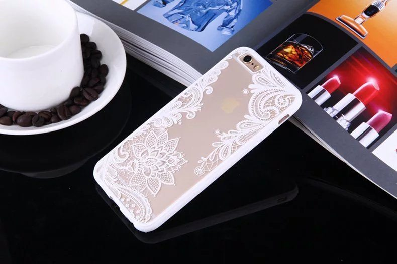 Henna Floral case for iPhone3 - Henna Floral - iPhone 6/6+/6S/6S+/7/7+