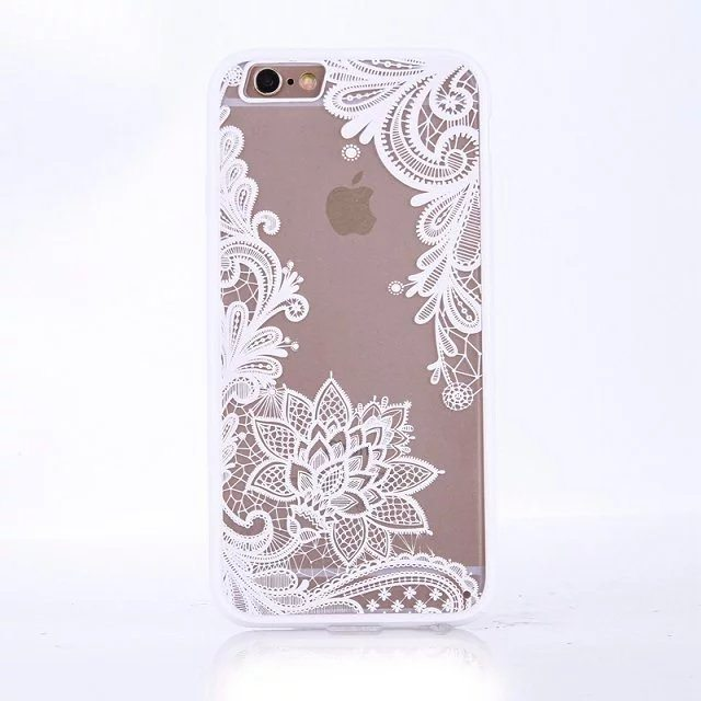 Henna Floral case for iPhone5 - Henna Floral - iPhone 6/6+/6S/6S+/7/7+