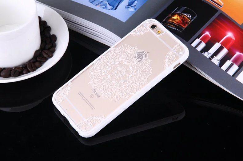 Henna Flower case for iPhone1 - Henna Flower - iPhone 6/6+/6S/6S+/7/7+