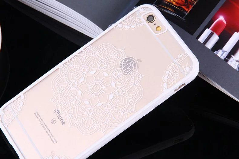 Henna Flower case for iPhone10 - Henna Flower - iPhone 6/6+/6S/6S+/7/7+