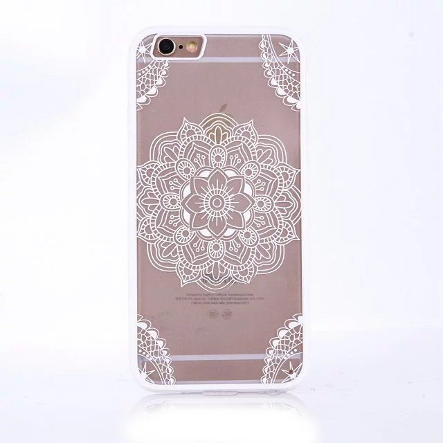Henna Flower case for iPhone12 - Henna Flower - iPhone 6/6+/6S/6S+/7/7+