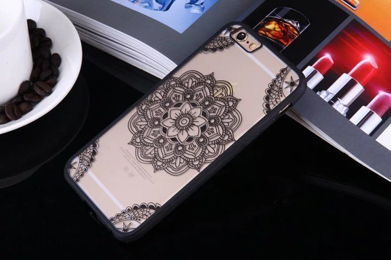 Henna Flower case for iPhone4 - Henna Flower - iPhone 6/6+/6S/6S+/7/7+