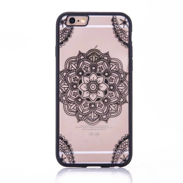 Henna Flower case for iPhone5 - Henna Flower - iPhone 6/6+/6S/6S+/7/7+
