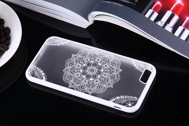 Henna Flower case for iPhone6 - Henna Flower - iPhone 6/6+/6S/6S+/7/7+