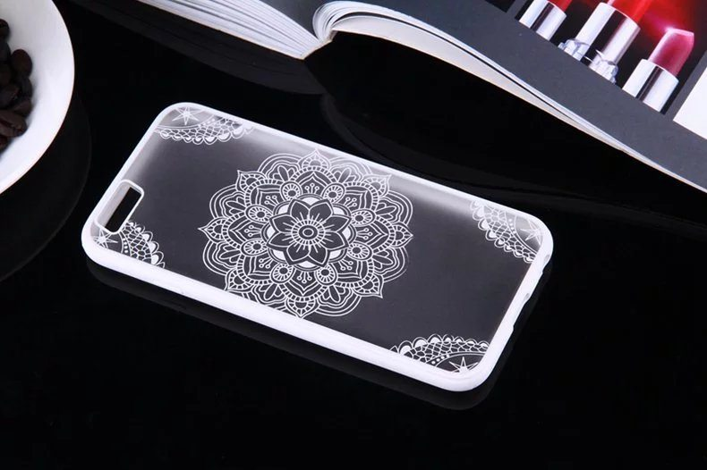 Henna Flower case for iPhone7 - Henna Flower - iPhone 6/6+/6S/6S+/7/7+