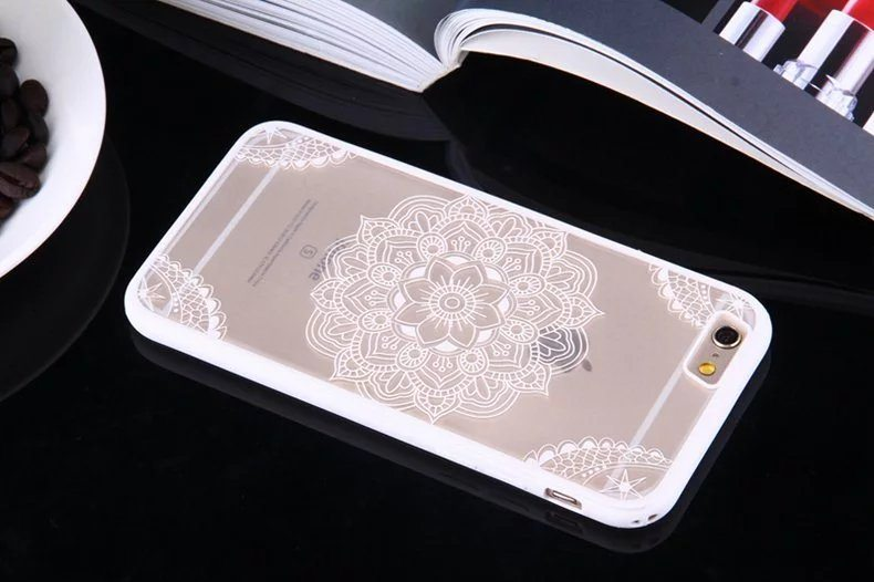 Henna Flower case for iPhone8 - Henna Flower - iPhone 6/6+/6S/6S+/7/7+