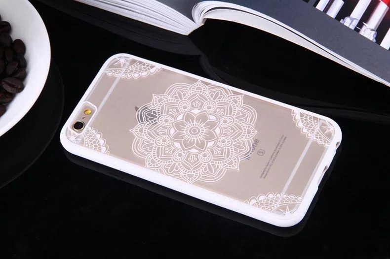 Henna Flower case for iPhone9 - Henna Flower - iPhone 6/6+/6S/6S+/7/7+