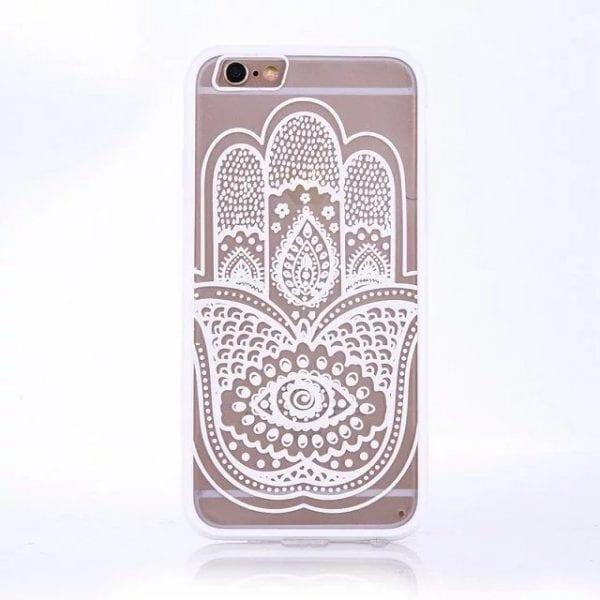 Henna Hand case for iPhone1 600x600 - Mandala Hand - iPhone 6/6+/6S/6S+/7/7+