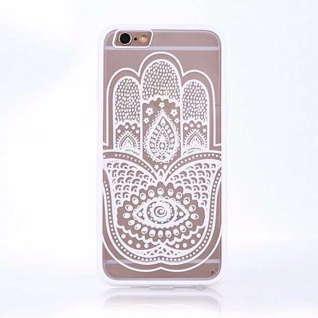 Henna Hand case for iPhone1 - Mandala Hand - iPhone 6/6+/6S/6S+/7/7+